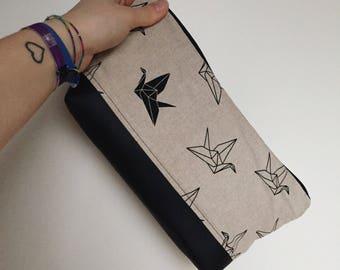 Cosmetic bag birds