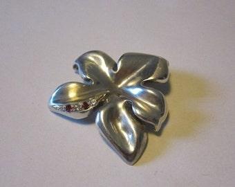 Hand made silver leaf
