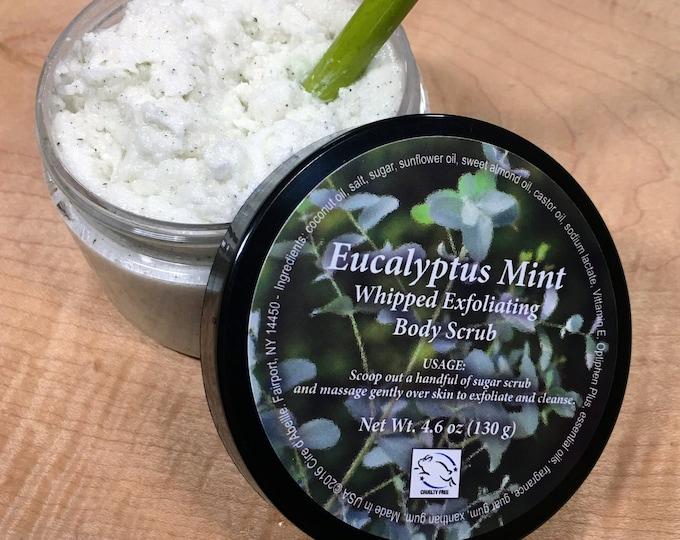 Eucalyptus Mint Whipped Exfoliating Body Scrub - 4.6 oz