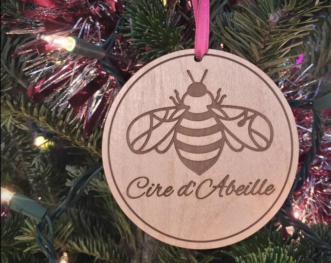 Wooden Cire d'Abeille™ Ornament