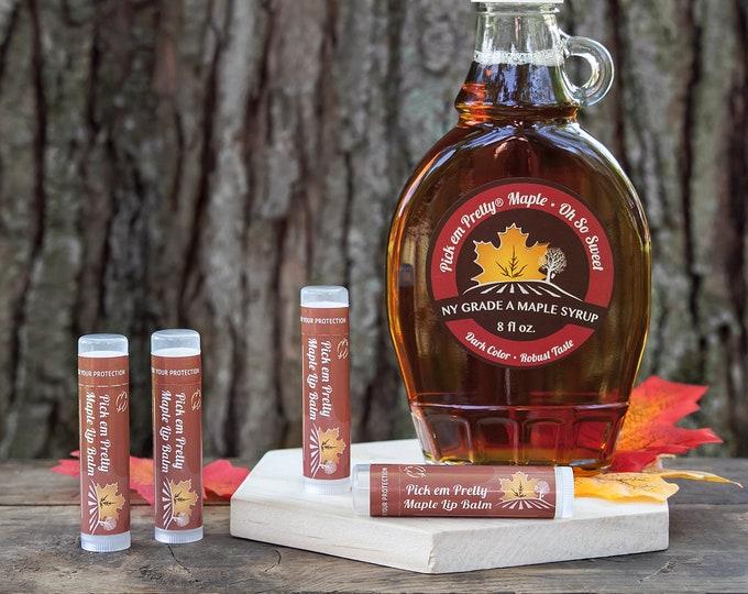 Pick em Pretty Maple Syrup Lip Balm by Cire d'Abeille® Skin Care - Gluten Free