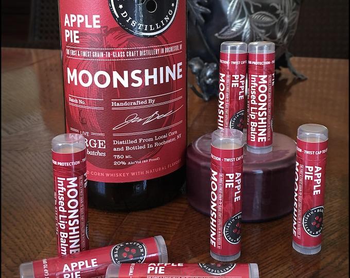 Black Button Distilling Apple Pie Moonshine Infused Lip Balm by Cire d'Abeille - Gluten Free