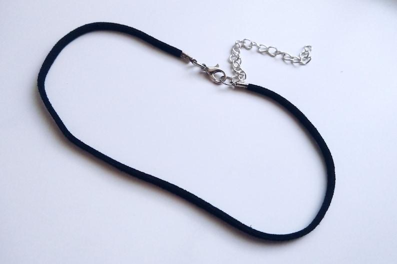 basic choker single choker festival style choker Thin black choker suede choker necklace faux leather choker