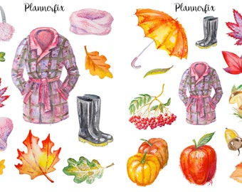 Autumn Air. Stickers
