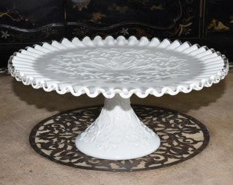 & Pedestal cake plate | Etsy