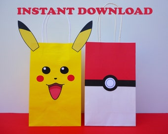 Pokemon Gift Bag