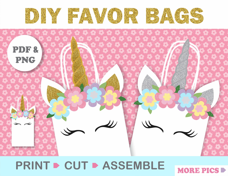 Unicorn Party/ Unicorn FAVOR BAGS/ Unicorn Birthday/ Unicorn | Etsy