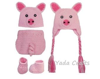 infant pig costumes etsy