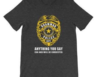 Grammar Police Funny Tshirt