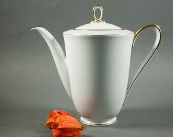 Bavaria Tirschenreuth Germany coffee pot, tea pot, Bucka & Wissen Danmark