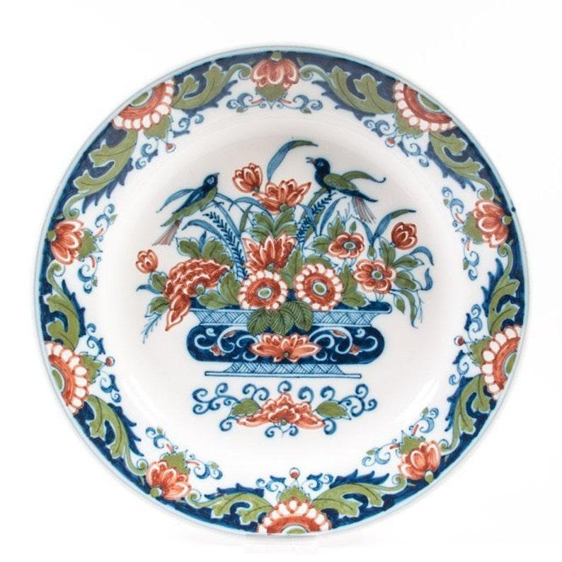 Vintage 1940-1960 Makkum Tichelaar Plates 2 Two Buy Cheap Wonderful