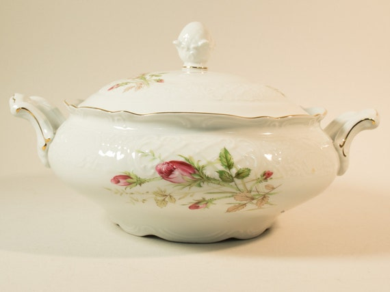 50s Covered Bowl By Bavaria Schumann Arzberg Covered Dish