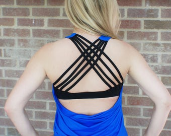 SALE!!! Alexa Cross Back Workout Tank