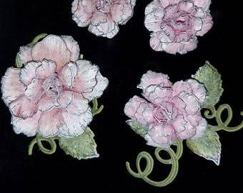 Handmade Paper Flowers-Pink Rose