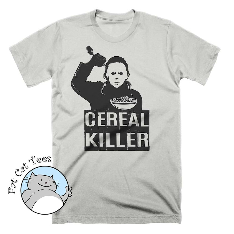 45d507ac Funny Cereal Killer T Shirt Breakfast Shirt Halloween Costume | Etsy