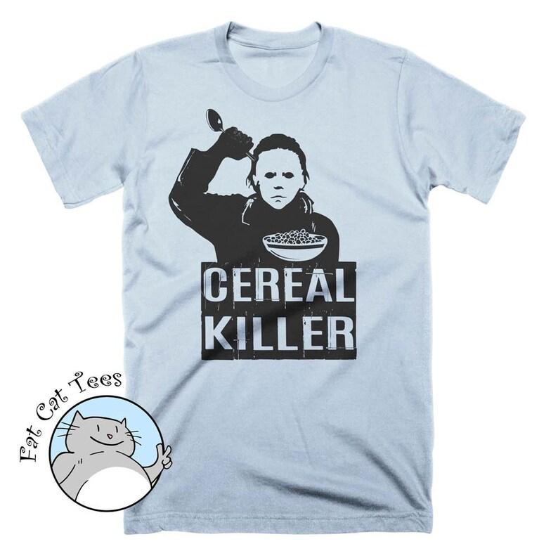 5ffe5ba05fe Funny Cereal Killer T Shirt Breakfast Shirt Halloween Costume