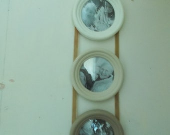 shabby chic hanging wall frames