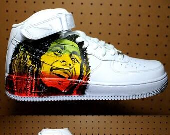 Eminem Shoes Nike Custom NIKE air force hand painted | Etsy