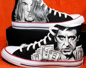 Joker Converse Why so Serious Custom Shoes | Etsy