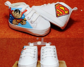 46b615aee6e77 Painted hero shoes | Etsy
