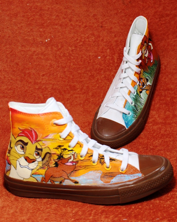 Lion King Hand-painted shoes Custom