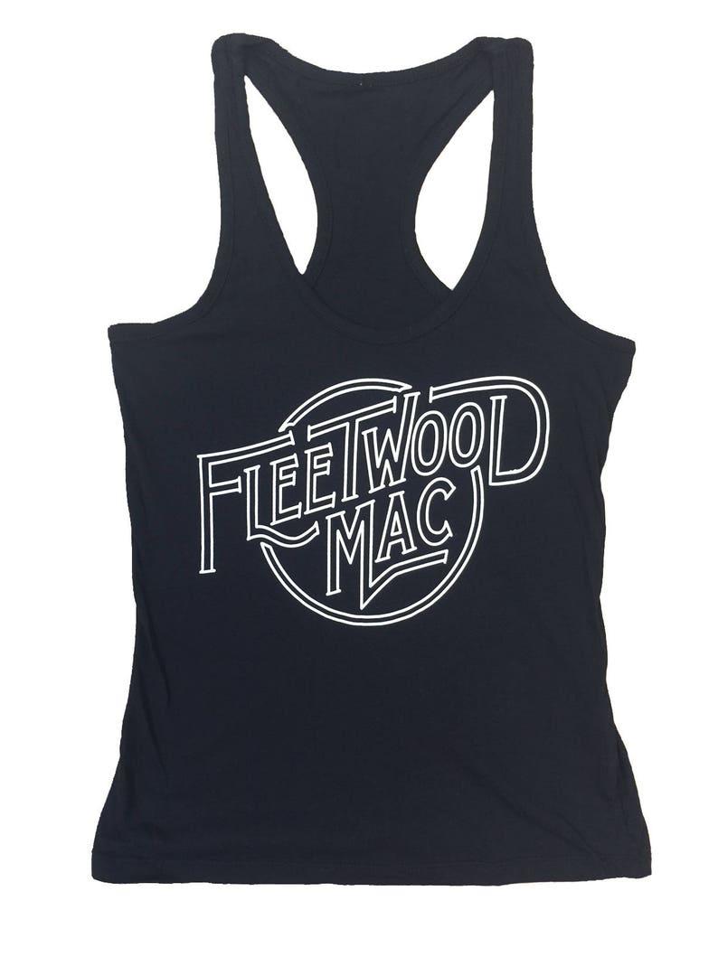 Black TopEtsy Tank Fleetwood Womens Mac WEH9Ie2bDY
