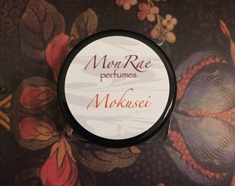 Mokusei solid perfume