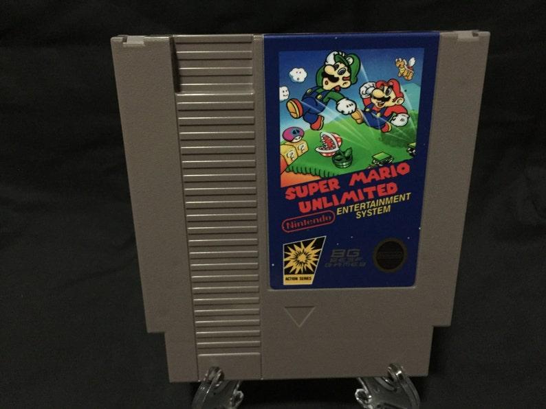 Super Mario Unlimited Nintendo NES Game