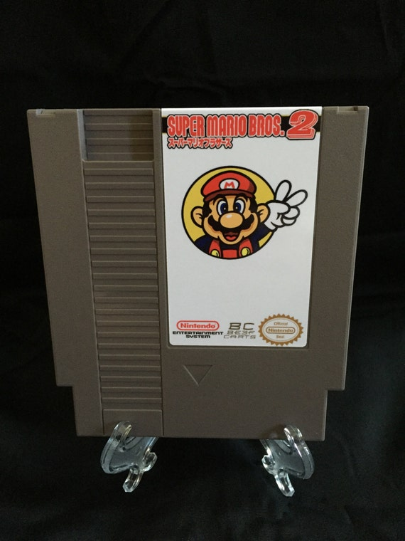 Super Mario Bros 2 The Lost Levels Nintendo NES English Game