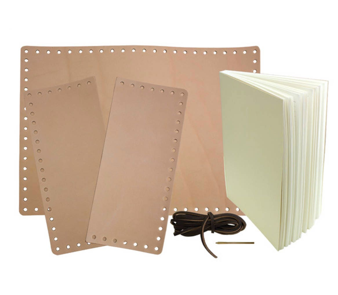 Leather Journal Diy Kit Make Your Own Journal