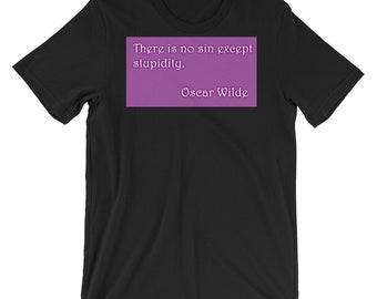 Oscar Wilde T Shirt Etsy