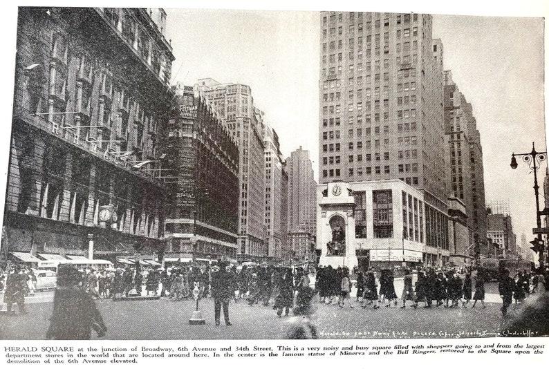 The Wonder City NEW YORK Vintage Photo Booklet Souvenir 1930/'s