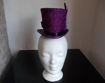 Mini Hut Hat Gothic Style Mini Zylinder Viktorianisch.
