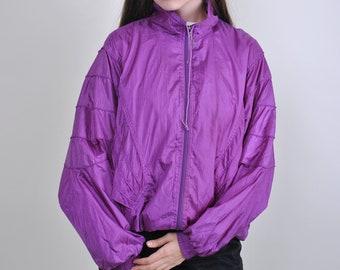 8e0efe1e8f Vintage purple windbreaker