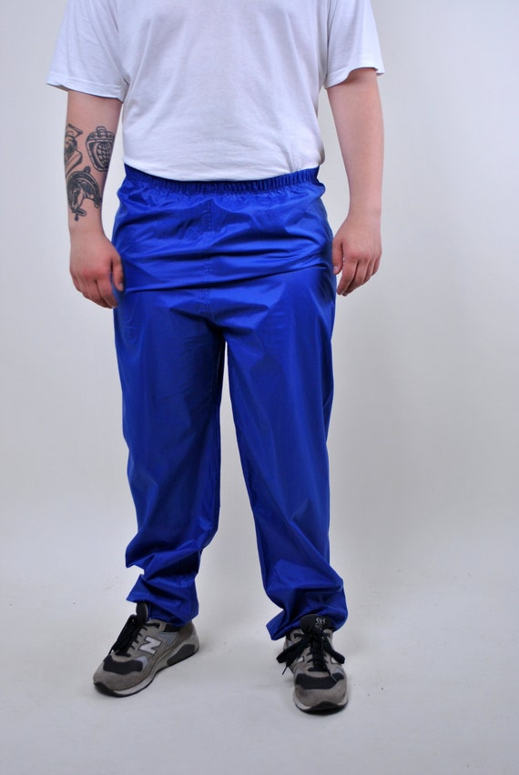 Vintage sport pants, outdoor pants, waterproof tro