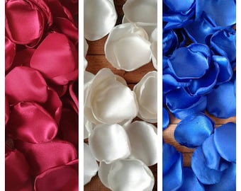 Burgundy wedding decor, ivory flower petals, royal wedding table decor, bridal shower, fall wedding, wedding toss, centerpieces,flower girl.