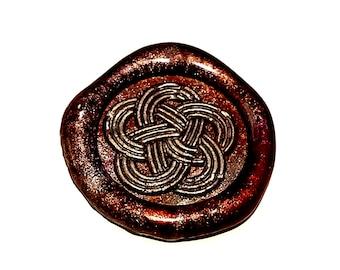 MINI Stamp Ornate | Wax Seal Stamp, wax sticks, wax spoon - Fast Shipping from Utah, USA - Design 21B