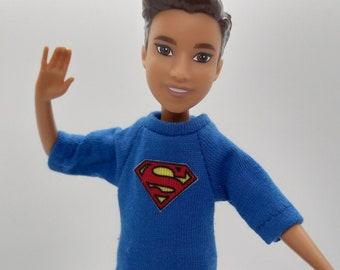 Stacie Boy Clothes: Superman t-shirt