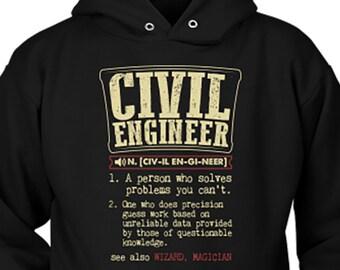Sweatshirt Hoodie Awesome Railroad Engineer Tee Shirt