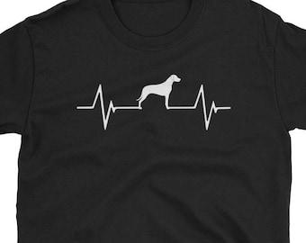 Rhodesian Ridgeback Shirt Gift Heartbeat Tee