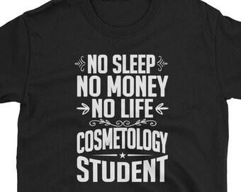 ed19ab6d Cosmetology Student Shirt Graduate Gift Tee