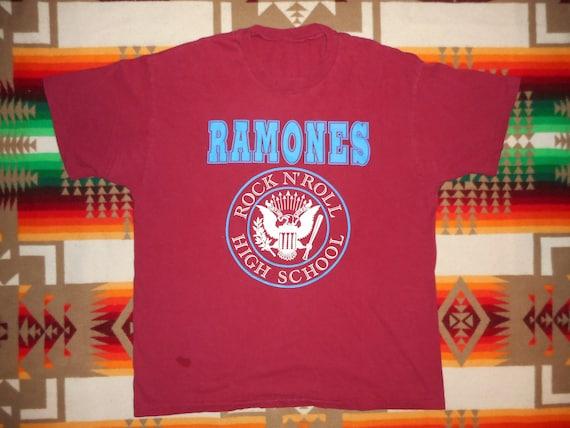 Ramones T Shirt Size XL Punk Rancid Sex Pistols Th