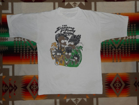 The Simpsons Go Funky Reggae T Shirt Sz Small Boot