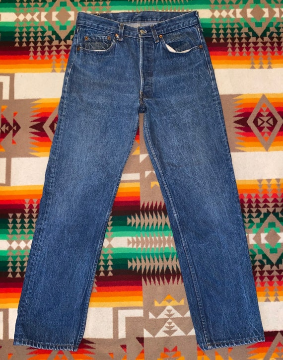 Levis 501 Button Fly Jeans Size 31