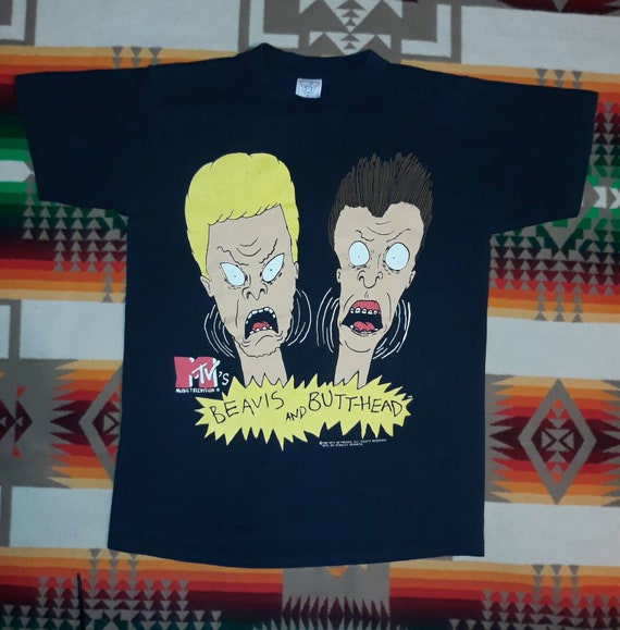 Beavis And Butthead T Shirt Sz M