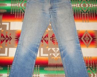Levis 517 Orange Tab Jeans 30 X 31