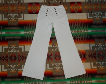 Plush Bottoms High Waisted Bell Bottom Jeans Size Small Boho Hippie