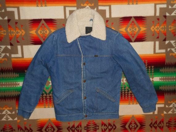 Maverick Denim Sherpa Ranch Jacket Sz M