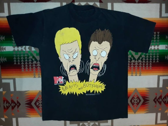 Beavis And Butthead T Shirt Sz L