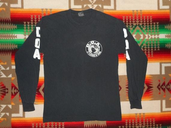 D.O.A. 13 Flavors Of Doom Long Sleeve T Shirt Sz M